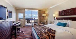 Hilton Palacio del Rio's newly renovated guestroom