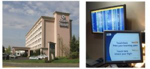 Coast Gateway Hotel added FlyteBoard technology to its offerings.