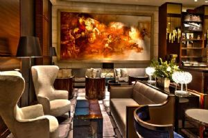 Theresa Fatino designed the new lobby for The St. Regis San Francisco.