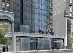 Marshall Hotels & Resorts added the under-construction Hilton Garden Inn in Manhattan to its management portfolio.