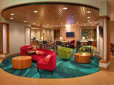 The new look and feel of the SpringHill Suites.