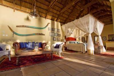 The Honeymoon House at Tongabezi has been enhanced with new designs.