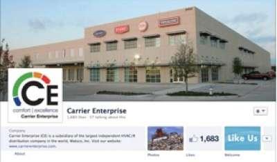 Carrier Enterprise's Facebook page