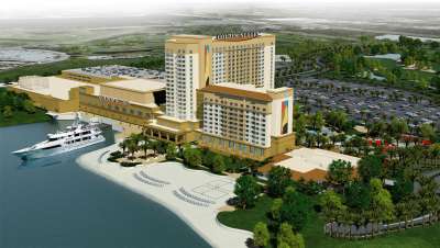 Rendering of the Golden Nugget Casino in Lake Charles