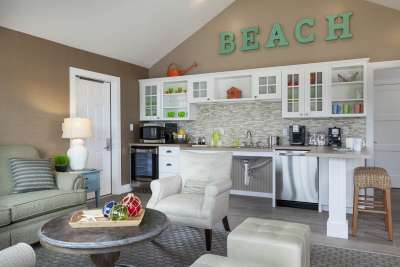 The Sea Crest Beach Hotel's new cottage can accommodate up to eight guests.