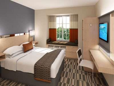 Microtel Inn & Suites by Wyndham Guestroom Rendering