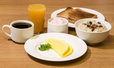 Days Inn breakfast