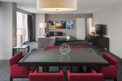 The VIP Suite at the Hyatt Regency Cincinnati