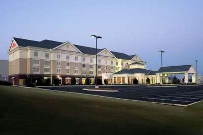 The Hilton Garden Inn in Tupelo