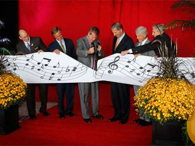 The Omni Nashville Hotel celebrated its grand opening with a ribbon-cutting ceremony.