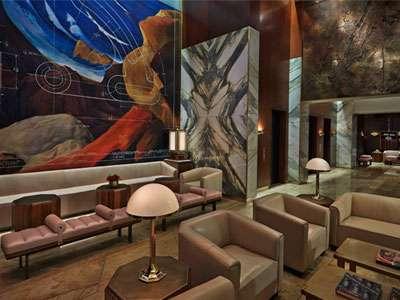 Viceroy New York's lobby