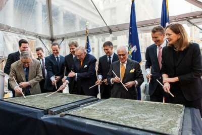 The Four Seasons Hotel New York Downtown has officially broken ground.