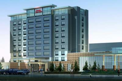 A 135-room Hampton Inn opened in Calgary near the airport.