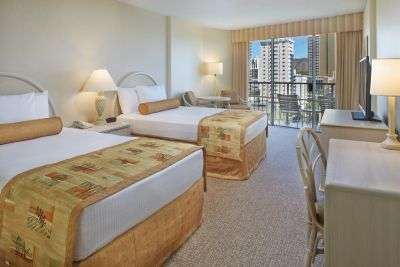 Guestrooms at OHANA Waikiki East have a refreshed design.