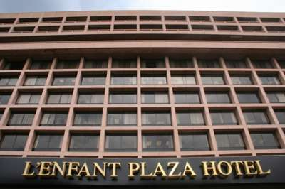 L'Enfant Plaza Hotel was closed for renovation following its acquisition.