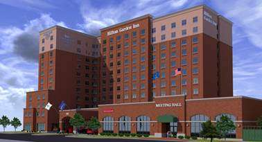 Hilton Worldwide recently opened its 14th dual-branded hotel in North America.