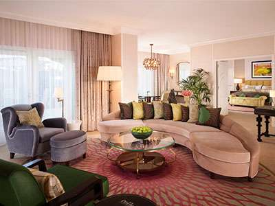 The Beverly Hills Hotel's Premier Suite
