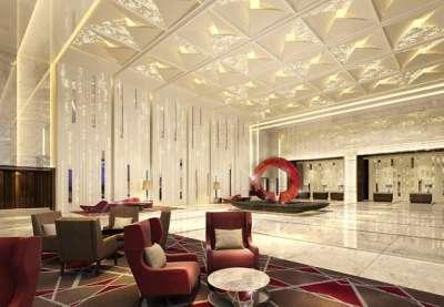 Shanghai Marriott Hotel Parkway's lobby