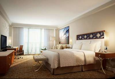 Guestrooms at the InterContinental San Juan were part of the $22.2M renovation.