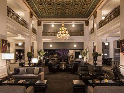 Lord Baltimore Hotel's lobby