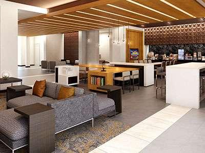 Wingate by Wyndham's lobby rendering