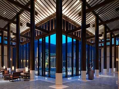 Hyatt Regency Chongming's lobby