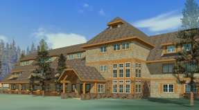 The new buildings will be multi-story structures that will reduce the footprint of Canyon Lodge.