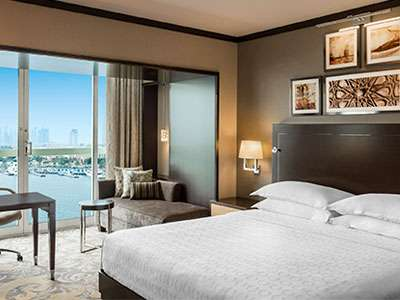 The Sheraton Dubai Creek Hotel & Towers recently completed a $50 million renovation.