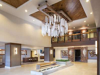 Hilton Sedona Resort & Spa has completed phase one of its lobby renovation
