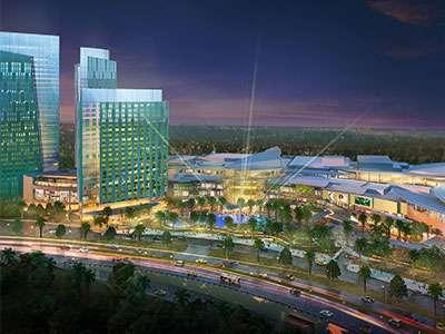 Le Méridien Putrajaya building within the IOI City Mall complex