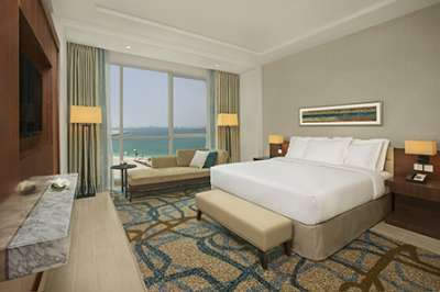 A Master Suite at DoubleTree by Hilton Dubai – Jumeirah Beach.