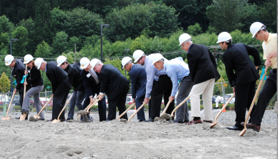 Ground was broken recently for a Homewood Suites in Issaquah