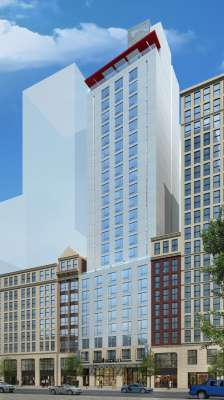 Marshall Hotels Resorts Is Now Managing The Under Construction Hotel Indigo In New York