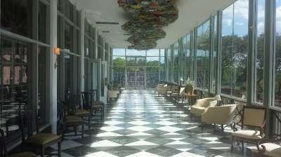 The Drake Oak Brook hotel's flower room