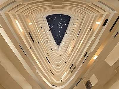 Hyatt Regency Suzhou's 29-story atrium