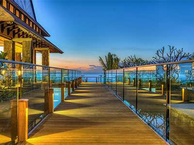 The Westin Turtle Bay Resort & Spa marks the brand's debut in Mauritus.