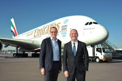 Starwood CEO Frits van Paasschen and Thierry Antinori