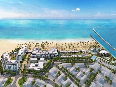 A rendering of Nikki Beach Resort & Spa Dubai
