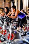 Guests and locals can give fitness a spin at the Refinery Hotel.