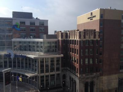 Greenwood Hospitality Group recently opened a Renaissance as part of the Center City Lehigh Valley development.