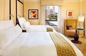 The Nod Hill program is intended to aid peaceful sleep in Stanford Court's hotel rooms.
