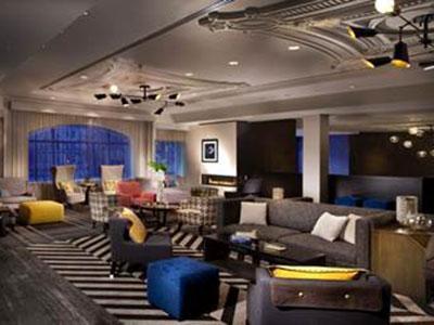 Hotel Commonwealth's new lobby