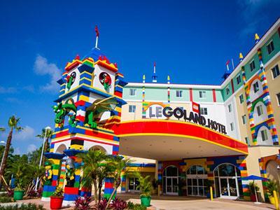 The Legoland Hotel in Florida