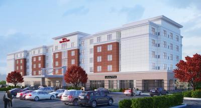 A rendering of Hilton Garden Inn Rochester/University & Medical Center