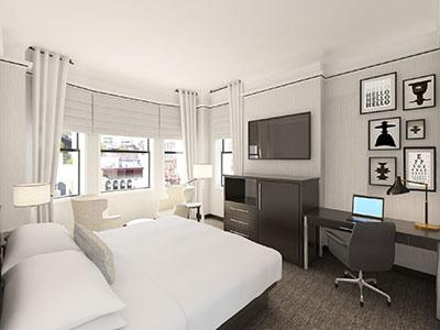 A guestroom at The Gregory