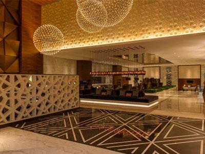 Sheraton Grand Dubai's lobby