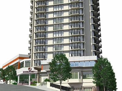 A rendering of DoubleTree by Hilton Hotel & Suites Victoria