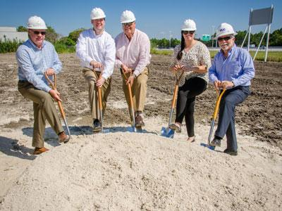 Groundbreaking for WoodSpring Suites hotel near Zoo Miami