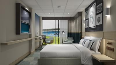Rendering of DoubleTree by Hilton at the Ricoh Arena - Coventry