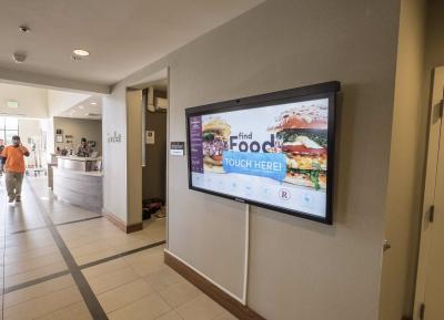 Porter24's interactive touchscreen concierge